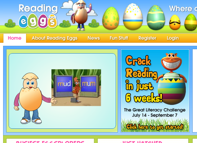 Login to Reading Eggs – the online program where kids aged 2–13 learn to read with fun reading lessons and phonics games!